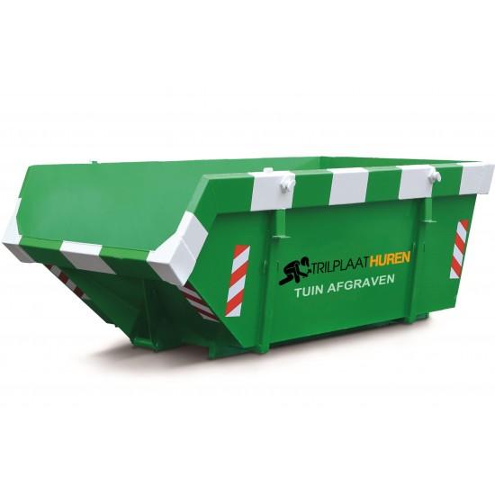 Afvalcontainer Grond Huren 6 m3 (kuub) €399,00 per dag
